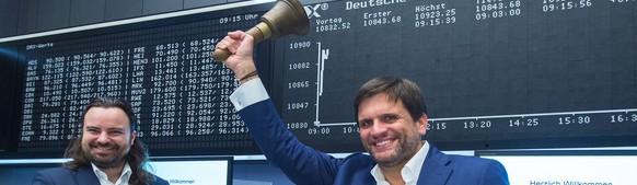2015 hatte das Management der German Startups Group noch gut lachen...