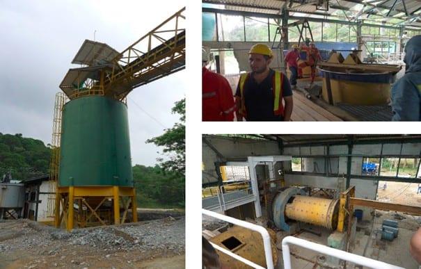 Die modernisierte El Limón Mine, nördlich von Medellin, Kolumbien, soll kurz nach Ostern ihren Betrieb aufnehmen.