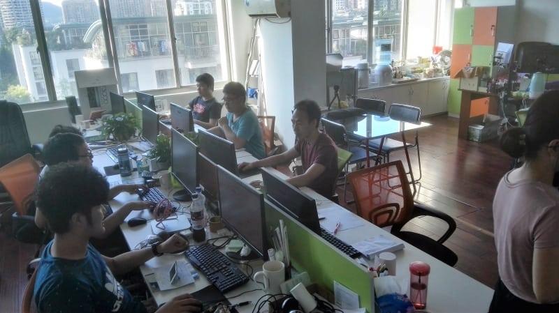 Die Entwickler-Ecke bei Hello Pal