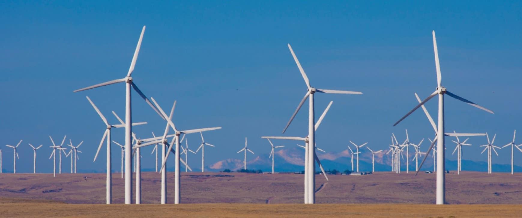 Windpark - Alternative Energie